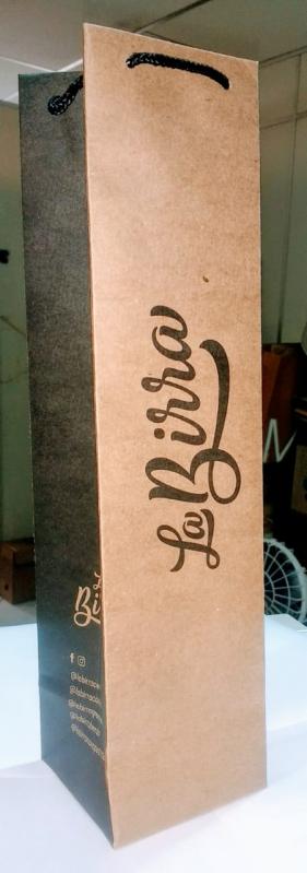 Comprar Sacola de Papel Kraft Personalizada Vitória - Sacola Personalizada de Papel para Loja