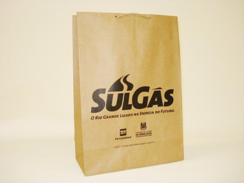 Comprar Sacola de Papel Personalizada com Logo Rio Grande do Sul - Sacola Papel Personalizada Aniversário