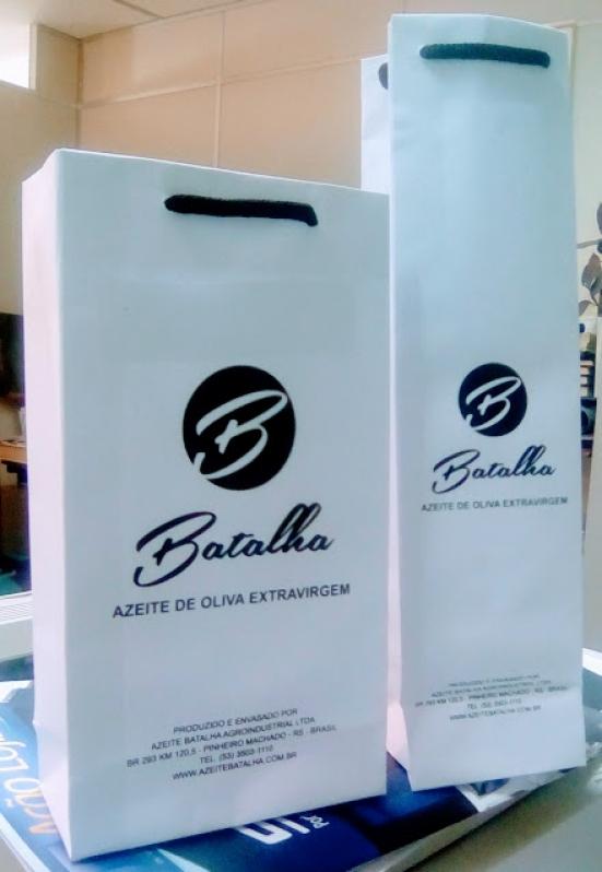 Comprar Sacola de Papel Personalizada Eldorado do Sul - Sacola de Papel Colorida Personalizada