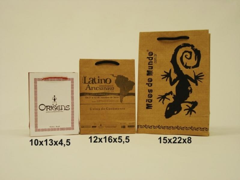 Embalagem de Papel Personalizada GIRUÁ - Embalagem Sacola Personalizada