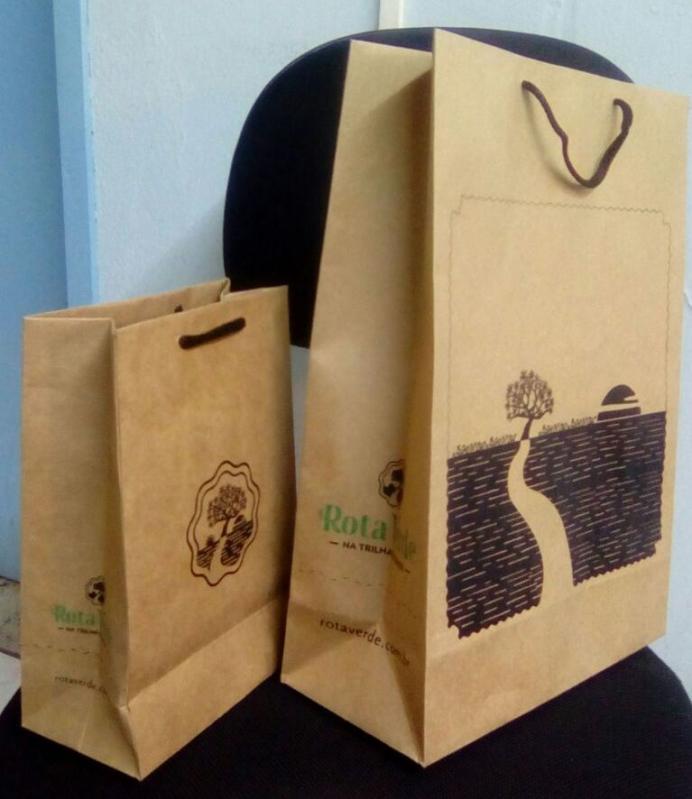 Embalagens de Papel Personalizada São Paulo - Embalagem Sacola Personalizada