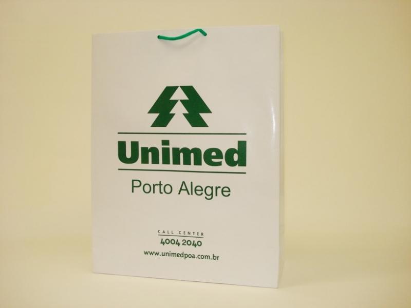 Empresa de Embalagem de Papel Personalizada São Jerônimo - Embalagem Sacola Personalizada