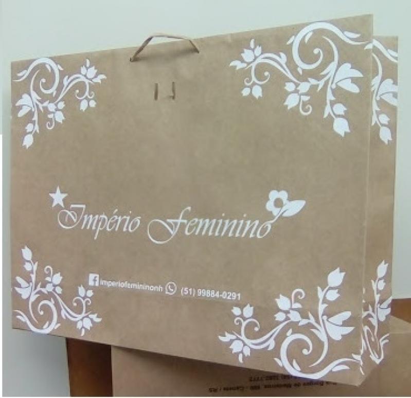 Empresa de Embalagem Sacola Personalizada Passo Fundo - Embalagem Personalizada Plástico