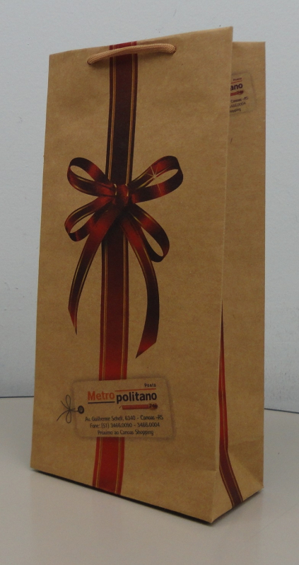Onde Comprar Sacola Papel Personalizada Aniversário GIRUÁ - Sacola de Papel Kraft Personalizada