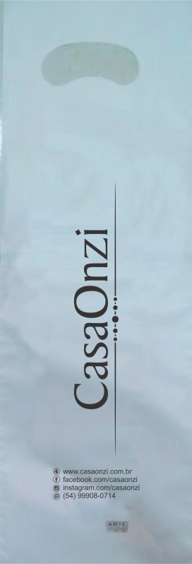 Sacola Plástica Personalizada Valores Novo Hamburgo - Sacola Plástica Personalizada Bijuterias