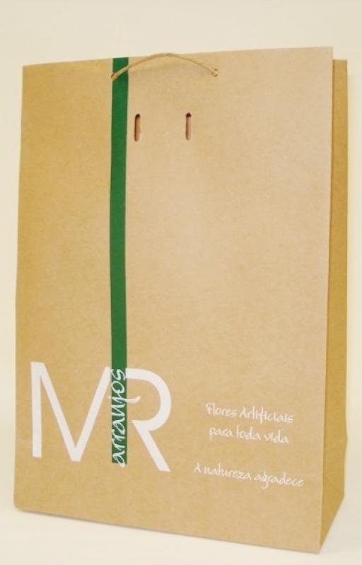 Sacolas de Papel Personalizada com Logo ROLANTE - Sacola Papel Personalizada Loja