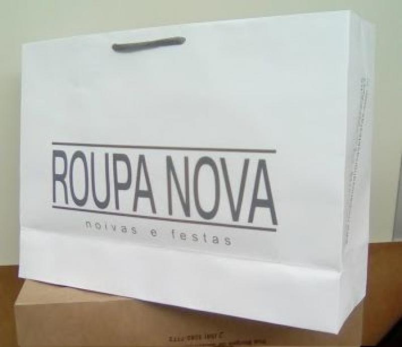 Sacolas Papel Personalizada para Loja Mato Grosso - Sacola de Papel Personalizada para Loja