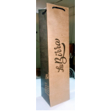 comprar sacola de papel kraft personalizada Paraná