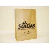 comprar sacola de papel personalizada com logo Canoas