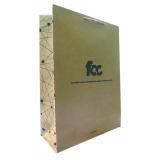 comprar sacola papel personalizada loja CRUZ ALTA