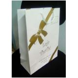 comprar sacola papel personalizada para loja Curitiba