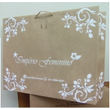 empresa de embalagem sacola personalizada CRUZ ALTA