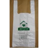 qual o valor sacola plástica personalizada alça Alvorada