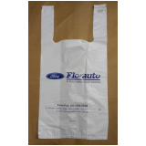 quanto custa sacola de plástico personalizada para loja Florianópolis