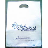 quanto custa sacola plástica personalizada para loja Taquara
