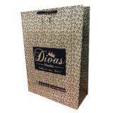 sacola de papel kraft personalizada NOVA SANTA RITA