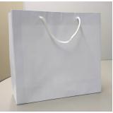 sacola de papel lisa para comércio NOVA SANTA RITA