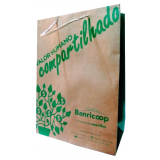sacola de papel personalizada SANTO ANTONIO DA PATRULHA
