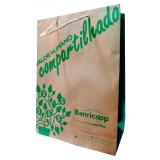 sacola de papel personalizada Bento Gonçalves