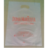sacola de plástico personalizada alça vazado valores Alvorada