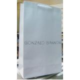 sacola papel personalizada para loja Gravataí