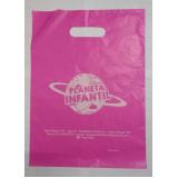 sacola personalizada plástico valores Viamão