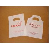 sacola plástica personalizada bijuterias Alvorada