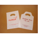 sacola plástica personalizada bijuterias Taquara