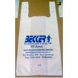 sacola plástica personalizada para loja valores Curitiba