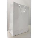 sacolas de papel lisa para garrafa Curitiba