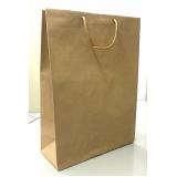 sacola de papel lisa