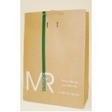 sacolas de papel personalizada com logo Vitória