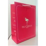 sacolas de papel personalizada para loja NOVA SANTA RITA