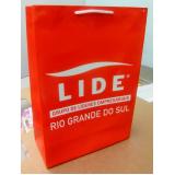 sacolas de papel personalizada Curitiba