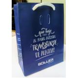 sacolas papel personalizada aniversário Caxias do Sul
