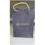 sacolas papel personalizada loja Gravataí