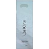 sacolas plástica branca personalizada Alvorada