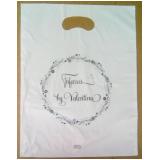 sacolas plástica personalizada para loja Viamão