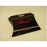 venda de embalagem personalizada travesseiro Belo Horizonte