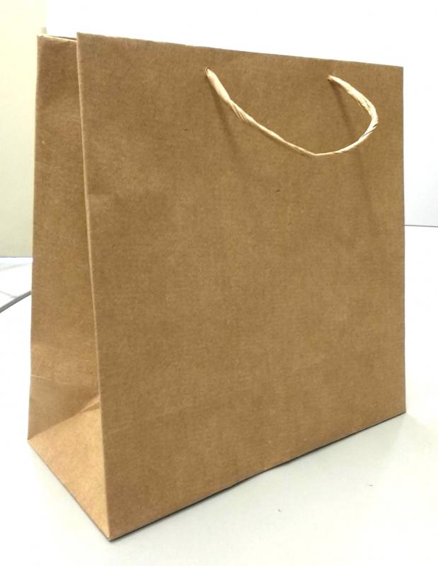 Valor de Sacola de Papel Lisa para Comércio CRUZ ALTA - Sacola de Papel Lisa para Garrafa