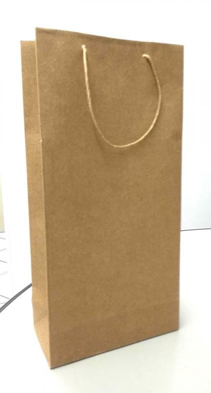 Valor de Sacola Kraft Lisa Santa Maria - Sacola de Papel Lisa Parda