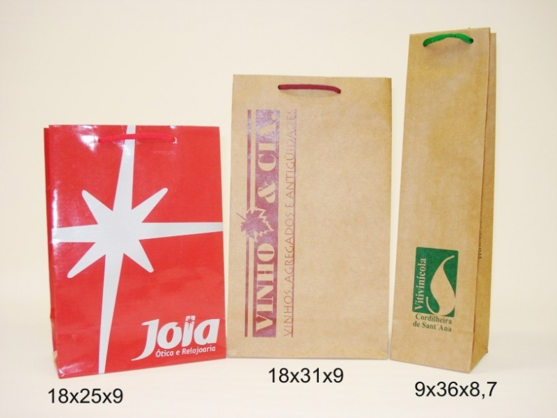 Venda de Embalagem Sacola Personalizada Brasília - Embalagem Personalizada Plástico